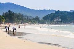 Langkawi strand Arkivbild