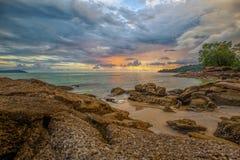 Langkawi sunset Stock Photo