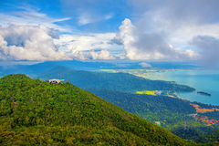 Langkawi viewpoint Royalty Free Stock Photo