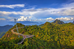 Langkawi viewpoint Stock Photo