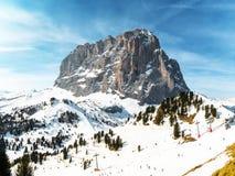 Langkofe, Zuid-Tirol, Italië Stock Fotografie