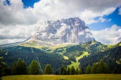 Langkofel mountain Royalty Free Stock Images