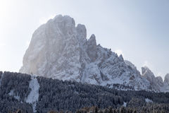 Langkofel - Sasso lungo Royalty Free Stock Photos