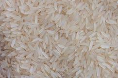 Langkorrelige rijstenclose-up Stock Afbeelding