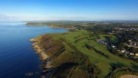 Langland海湾高尔夫俱乐部 免版税库存图片