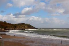 Langland Bay, Swansea, South Wales, UK Stock Photo