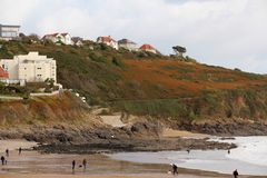 Langland Bay, Swansea, South Wales, UK Stock Images