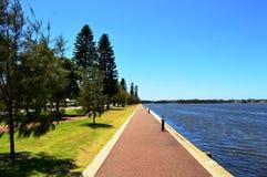 Langley park z Łabędzią rzeką obraz royalty free