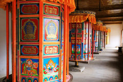 Langmu Temple of Tibetan Buddhism in China Royalty Free Stock Photos