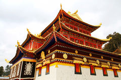 Langmu Temple of Tibetan Buddhism in China Stock Photo