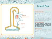 Langmuir Pump. stock image