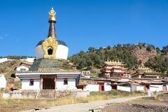 Langmusi喇嘛寺院 图库摄影