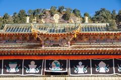 Langmusi喇嘛寺院 库存图片