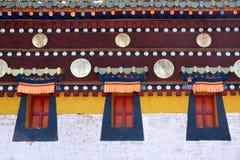 Langmusi喇嘛寺院 免版税库存照片