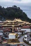 Langmusi-Tempel stockbilder