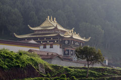 Langmusi Temple Stock Photo