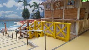 langnese海滩的冰 免版税图库摄影