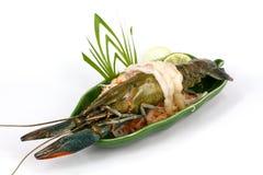 Langoustine de sashimi Images libres de droits