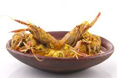 Langoustines Stew Stock Photo