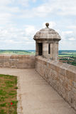 Langres tower with view Stock Image