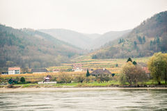 Langs de Donau in de Herfst Royalty-vrije Stock Foto