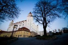 Langs de Donau in de Herfst Royalty-vrije Stock Afbeeldingen