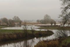 Langs de IJssel Fotografia Stock