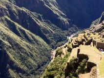 Langs de sleep Inca stock fotografie