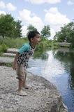 Langs rivier 10 Royalty-vrije Stock Foto's