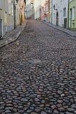 Langs straat stock afbeelding