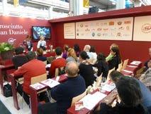 Langsame Nahrung und Terra Madre. Salone Del Gusto 2010 Stockbild
