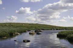 Langsamer Fluss Lizenzfreie Stockfotos