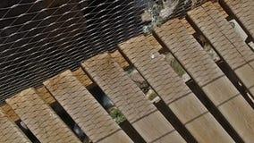Langsames Gehen in Richtung zum Abgrund Caminito Del Rey 08 stock video footage