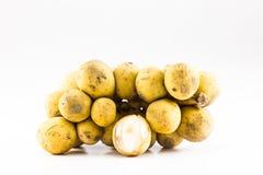 Langsat de la fruta tropical Foto de archivo libre de regalías