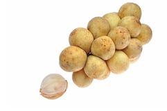 Langsat fruit Stock Images