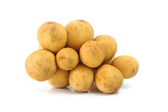Langsat Fruit Royalty Free Stock Photos
