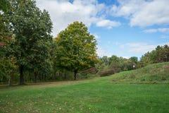 Langscape variopinto di autunno Immagini Stock Libere da Diritti