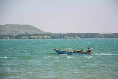 Langschwänziger Bootsmodus des Wassertransportes Stockbild