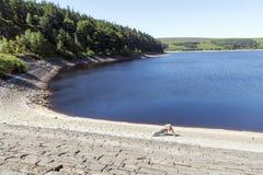 Langsett-Reservoir in South Yorkshire am Rand des Höchstbezirkes stockfoto