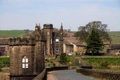 Langsett Village. Langsett is a village near Penistone in South Yorkshire, UK. It lies near the southern edge of South Yorkshire and on the edge of the Peak Royalty Free Stock Photos