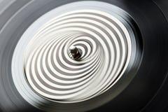 Langspielplatten-Aufzeichnung Stockfotos