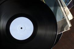 Langspielplatten und Abdeckungen Lizenzfreies Stockfoto