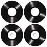 Langspielplatten-Vinylaufzeichnungs-Modell-Vektor Lizenzfreie Stockfotos