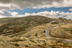 Langste Berg in Portugal Royalty-vrije Stock Foto's