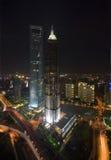 Langste gebouwen in Chinees Stock Afbeelding