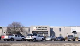 Langston Companies, Memphis del oeste, Arkansas Foto de archivo libre de regalías