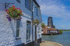 Langston Harbour, Hampshire, Angleterre images stock