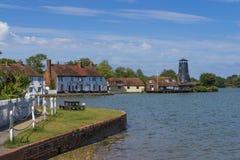 Langston Harbour, Hampshire, Inghilterra immagine stock