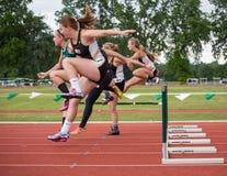 Langstreckenläufer Stockbilder