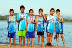 LangSuan Mini Marathon 8vo Fotografía de archivo libre de regalías